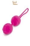 Boules de Geisha fuchsia Secret Intime - Très jolie Smartball fushia signée Secret Intime.