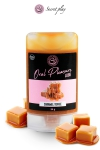 Lubrifiant comestible caramel toffee