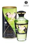 Huile chauffante - Sorbet de minuit - Huile aphrodisiaque comestible et chauffante, activée par la chaleur de la peau ou les baisers, by Shunga.