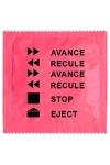 Préservatif humour - Avance Recule - Préservatif  Avance Recule , un préservatif personnalisé humoristique de qualité, fabriqué en France, marque Callvin.